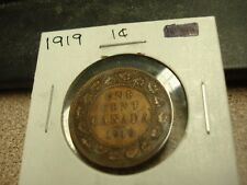 1919 - Canada one cent - Canadian penny - Nice Coin