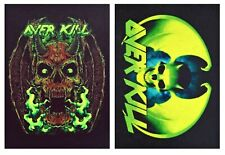 Overkill patch DIY sew on printed rock band patches thrash heavy death metal