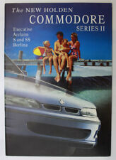 Used Holden Commodore VS Series II Sales Brochure S SS Berlina Executive Acclaim