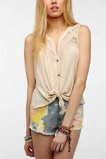 Urban Outfitters Layers Of Lace Tank Ivory Cream Elena Gilbert Vampire Diaries