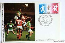 Yt 1940 FOOTBALL COUPE DE FRANCE  CARTE MAXIMUM 1° JOUR FCP