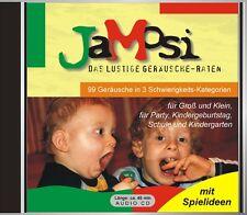 JAMOSI GERÄUSCHE RATEN LOGOPÄDIE AKTIVIERUNG DEMENZ SENIOREN CD-SPIEL 99 TRACKS