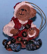 "Boyds Bears ornament ""Jingles"" #25750 Christmas NIB,2001 Ring in the Cheer elf"