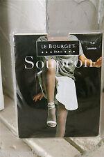 medias sospecha DE satén 15D grava la BOURGET nuevo en caja GAMA SUPERIOR T 3