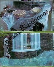 LARGE THIN CLEAR PVC PLASTIC PAINTING SHEETING TARPAULIN DIY COVER FURNITURE 10C