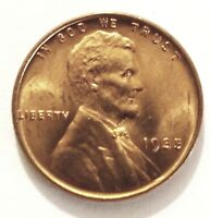 1935-P RED BU UNCIRCULATED LINCOLN WHEAT CENT MINI ROLL OF 25 COINS