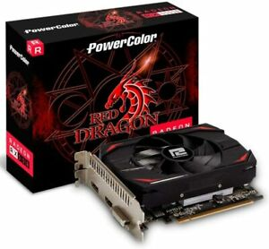 PowerColor AMD Radeon RX 550 4GB Red Dragon AXRX 550 4GBD5-DH Graphics Card