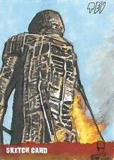 The Wicker Man Sketch Card created by Ted Dastick Jr.