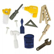Jesse James Buttons - Dress It Up~ Tool Time 414 ~ Drill ~ Hammer ~ Tools