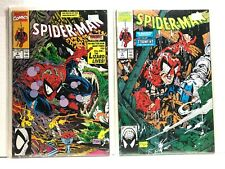 PRIMO:  SPIDER-MAN #4 5 VF lot McFARLANE art Marvel comics h2