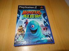 Monstruos Vs. Aliens-PS2 Juego-Nuevo Sellado PAL
