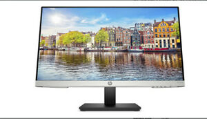HP 24mh FHD Monitor - Computer Monitor, IPS Display (1080p), built-in speakers