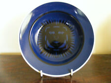 R.Copenhagen Signed Nils Johan Thorvald Thorsson after Anderson Blue 1950's Dish