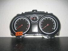 Velocímetro combi instrumento Opel Corsa D p0013372167 gasolina año 13 cabina cluster e353