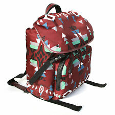 VALENTINO GARAVANI nylon leather navajo native couture rucksack backpack NEW
