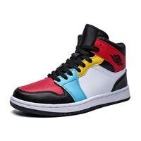 Mens Basketball Shoes Running Sport Tide Skate Sneakers HighTop Outdoor Athletic