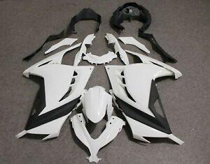 For kawasaki ex ninja300r 2013-2017 Unpainted plastic fairing set bodywork kit