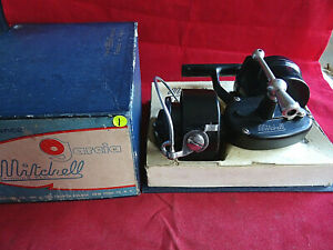RARE SUPER BOXED GARCIA MITCHELL 300 SIZE SPINNING WITH USA BOX