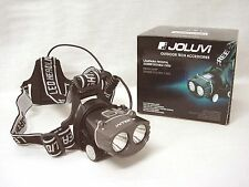 (34759) JOLUVI LINTERNA LAMPARA LUZ LED FRONTAL CABEZA 1800 LM 100 METROS