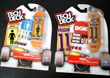 2 x TECH DECK 96 mm: GIRL & DGK Both Series 5 FINGERBOARD SKATEBOARDS NEW/SEALED