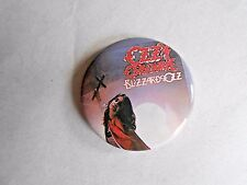 Vintage Rock Icon Ozzy Ozbourne Blizzard of Oz Album Pinback Button