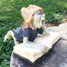 Garden Pixie Sculpture Outdoor Ornament Magical Elf Fairy Statue NEW 39105A