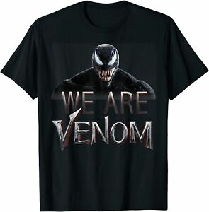 Venom We Are Venom Big Grin  Funny T-Shirt Size For Adult And Kid