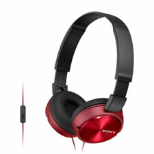 MDRZX310R Headband Headphones 30mm Driver 1.2m Cable Red