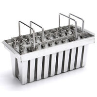 V-type Stainless Steel Mould 20 Cavity 83g Ice Pop Maker Mold DIY Ice Cream