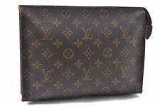 Authentic Louis Vuitton Monogram Poche Toilette 26 Cosmetics Pouch LV A6784