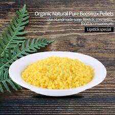 100% Organic Natural Pure Yellow Beeswax Pellets 50g Honey Cosmetic Grade 1 ark