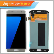 Silver LCD Display Touch Screen Replacement Samsung Galaxy S7 Edge G935F G935V