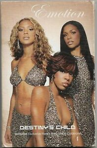 Destiny's Child Emotion CASSETTE SINGLE Electronic Disco, House, Ballad