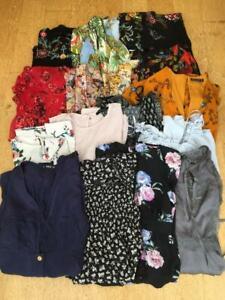 BOHO FLOATY FLOWERY  BUNDLE x 18    Woman/Teen  *Tops, Dresses*   Size 4/6/XS