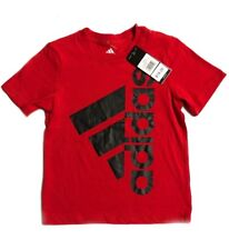 adidas T-Shirt  Red Kids Size 4-6 Boys / Tee