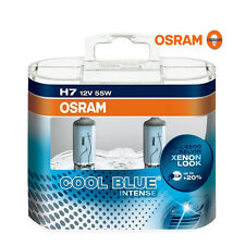 55W OSRAM CBI Cool Blue Intense H7 Headlight Bulbs Color Xenon Replacement Bulbs
