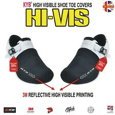Reflective High Visible Cycling Shoe Covers Toe Cover Protector Overshoes Cycle