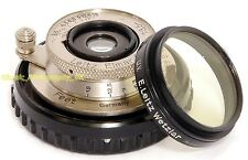 RARE! Unnumbered NICKEL Elmar f=3.5cm 1:3.5 LEICA LTM/L39 Lens by LEITZ Wetzlar