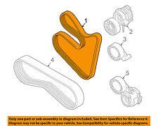 BMW OEM 03-08 760Li-Serpentine Drive Fan Belt 11287631817