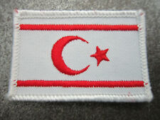 Northern Cyprus Flag Cloth Patch Badge (L12K)