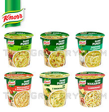 KNORR Buckets Instant Mashed Potatoes with Bacon, Toamto, Herbs, Cheese