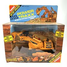 Buddy L Bulldozer Power Traxx Battery Operated 1988 Vintage Factory Sealed