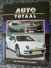 AUTO TOTAAL FORD,GT40,MUSTANG,THUNDERBIRD,RALLYE FORD SIERRA COSWORTH,LE MANS,