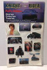 Vintage 1982 Knight Rider Tv Show 12 Puffy Stickers Nos David Hasselhoff