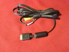 Genuine Official Sony PlayStation PS2 PS3 Audio Video AV Cable 1.5 Metre