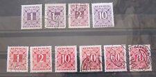 Österreich 1949 Portomarken aus Mi.232 - 259