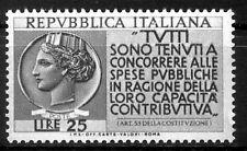 ITALIA 1954 - DENUNCIA DEL REDDITO  NUOVO  **