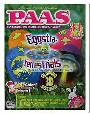 PAAS* 79pc Easter Egg EGGSTRATERRESTRIALS 3-in-1 Fun Expressions DECORATING KIT