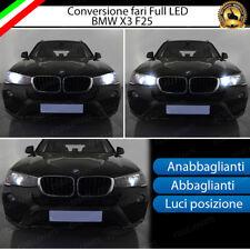 KIT FULL LED BMW X3 F25 ANABBAGLIANTI ABBAGLIANTI LUCI POSIZIONE 6000K NO ERROR