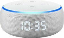 Amazon Echo Dot 3rd Gen Smart Speaker with Clock White Sandstone New Sealed
